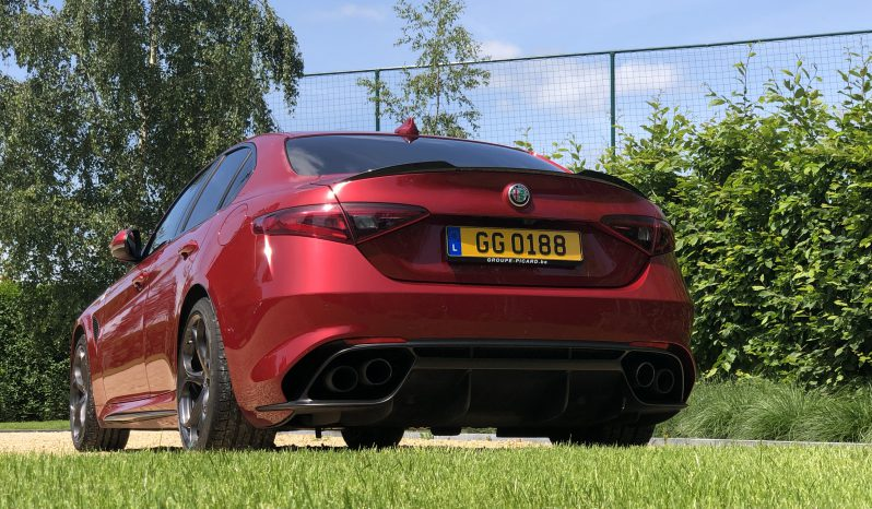 Alfa Roméo Giulia Quadrifoglio 2.9 T V6 full